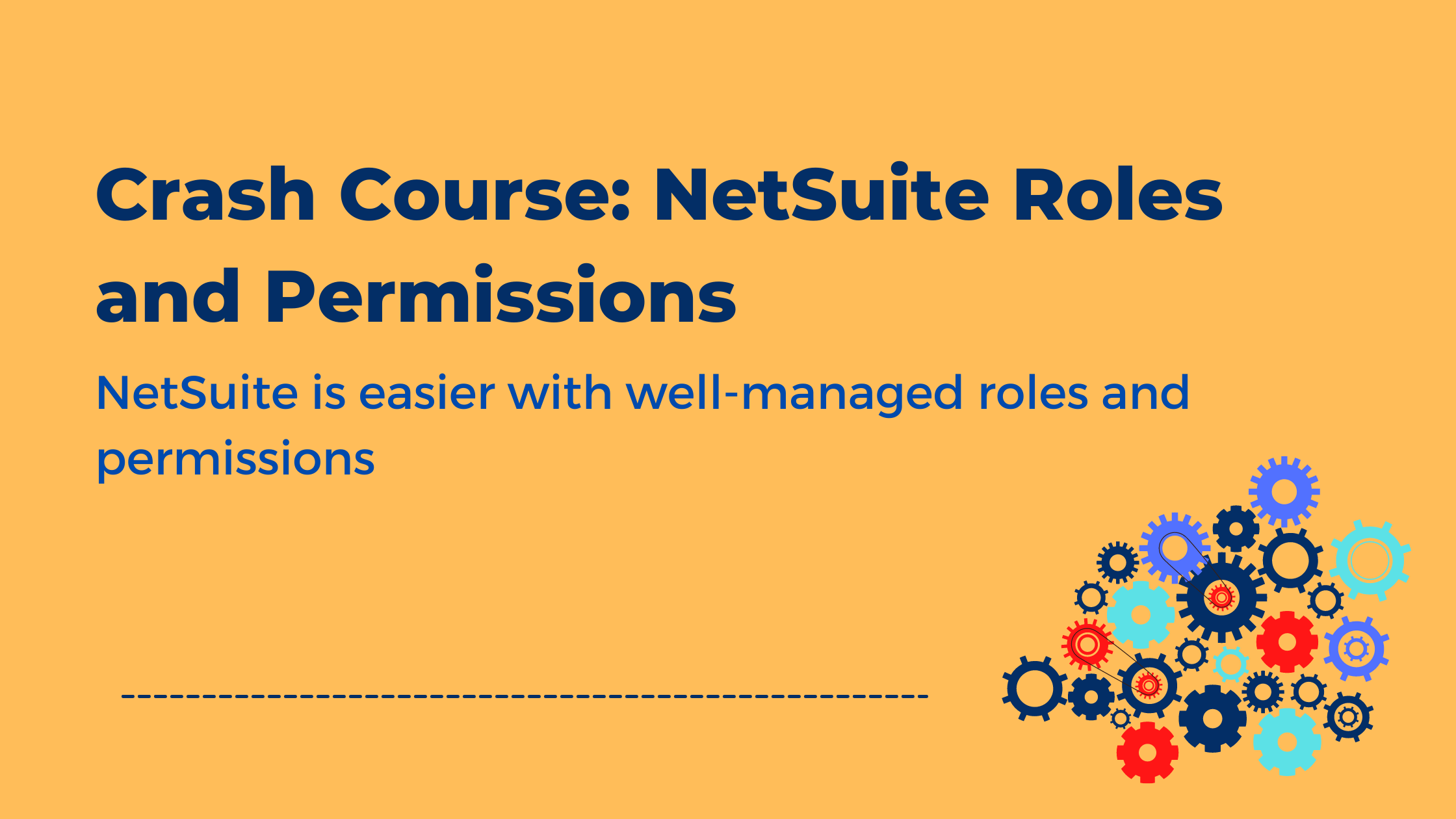 NetSuite Roles and Permissions