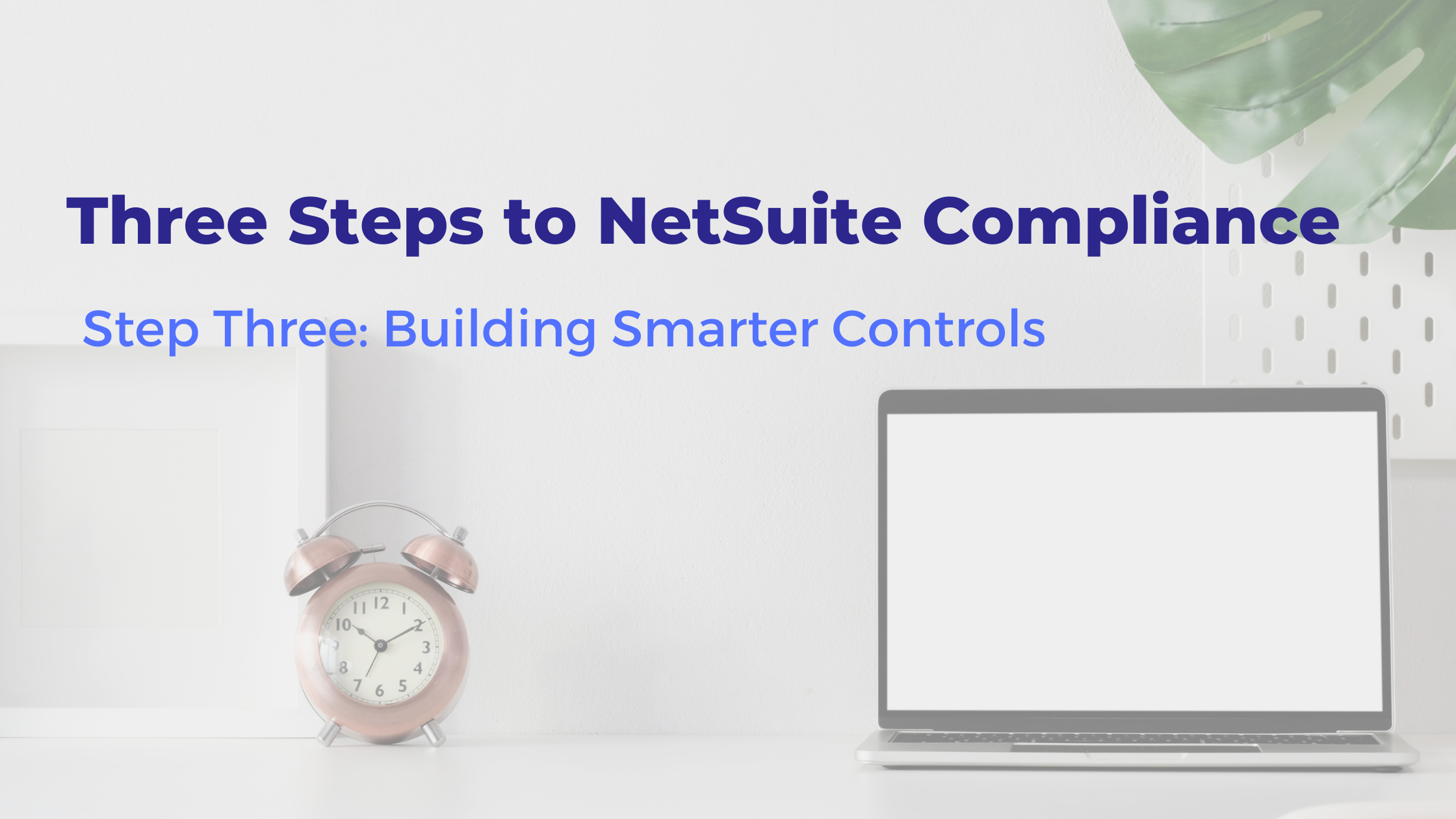 Three Steps to NetSuite Compliance (1)